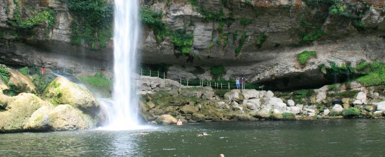 Misol-Ha Waterfall – Las Haditas